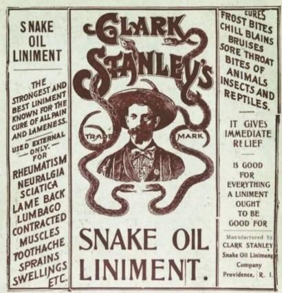 Snake Oil Liniment